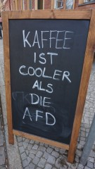 politischer kaffee
