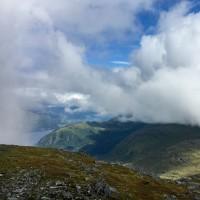 954 Meter über dem Fjord