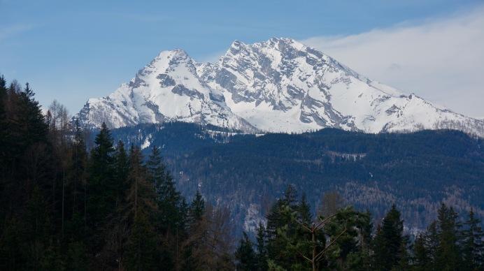watzmann im schnee